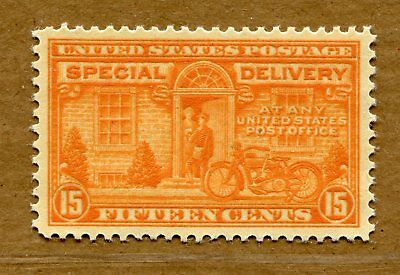 (1927-51) E16 15¢ Special Delivery XF/SUPERB MNH unused stamp