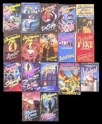 CHRISTOPHER PIKE Lot of 17 Paperbacks ~ Young Adult Horror