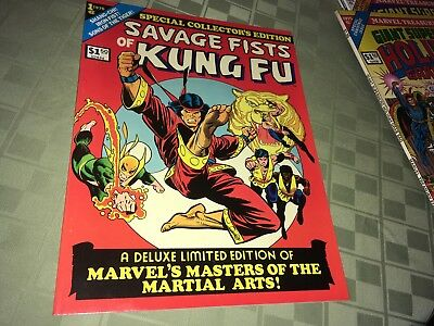 Savage Fists of Kung Fu Shang Chi Iron Fist Marvel Oversize Comic Book #1