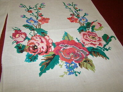 Vintage Ukrainian  embroidered rushnyk Poltava region # 143