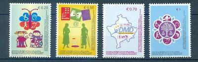 Kosovo 2007 Rights Of Persons With Disabilities Mnh Very Fine