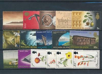 [107863] Pitcairn Is. good Lot very fine MNH Stamps