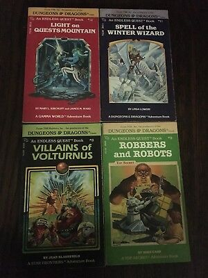 dungeons and dragons Book Lot - Choose Your Own Adventure