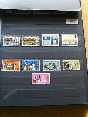 'gb Stamps - 1970 - Commemorative Issues' - Mnh
