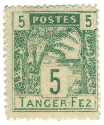 (I.B) French Morocco Local Post : Tanger-Fez 5c