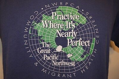 Great Pacific Northwest Health Care Doctor Dr Hospital L/XL T-Shirt USA VTG 90s