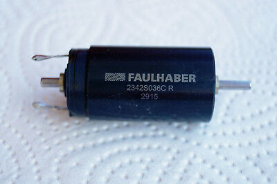 "FAULHABER DC-Motor 1-36 V Serie 2342SO36CR ""Swiss made"""