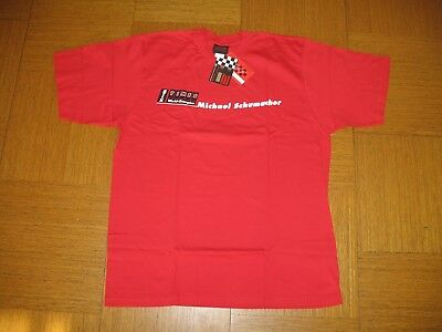 T-Shirt   Michael Schumacher #1  F1 World Champion Ferrari   Gr. XL   Neu / OVP