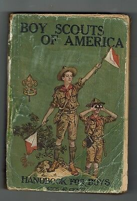 1923  Edition 28Th Printing Of The Boy Scout Handbook 95 Years Old