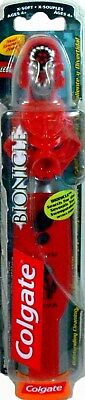 BIONICLE Toa Tahu Electronic Batterie Operated Toothbrush New Sealed Colgate