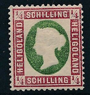 [39998] Heligoland 1869/74 Good stamp Very Fine MH signed