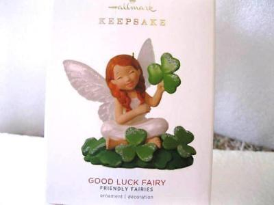 2018 Hallmark GOOD LUCK FAIRY Friendly Fairies #2 Shamrocks St Patrick's Day MAR