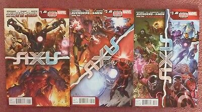 Avengers and X-men: AXIS Issues #1 #2 #3 Marvel 2014 The Red Supremacy Red Skull