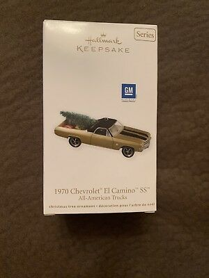2011 Hallmark Keepsake Ornament 1970 Chevrolet El Camino SS New NIB Old Stock