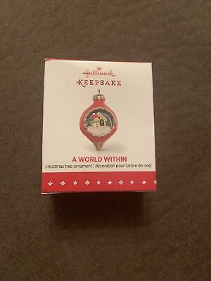 2015 Hallmark Keepsake Miniature Ornament A World Within New NIB Old Stock