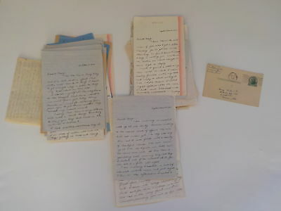 40 WWII Letters Navy Wife Serviceman George Mell Collection Correspondence WW2