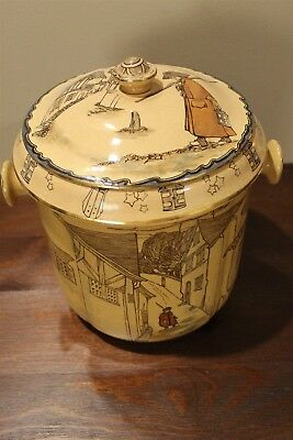 The Watchman Royal Doulton Waste Water Pot - Antique