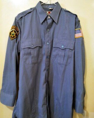 Scream The TV Show Screen Used Worn Lakewood Sheriff Shirt Prop Memorabilia