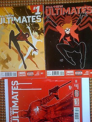 Marvel Comics All-New Ultimates Issue # 1 2 3