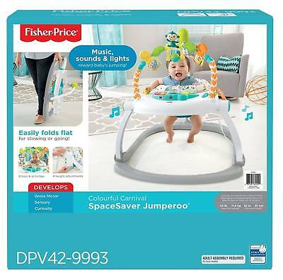 Baby toys- Jumperoo Colourful Carnival Fisher Price