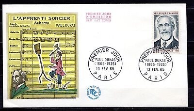 France - 1965 Paul Dukas (Composer) -  Mi. 1501 FDC