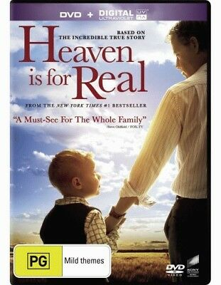 Heaven is for Real (DVD/UV) = NEW DVD R4