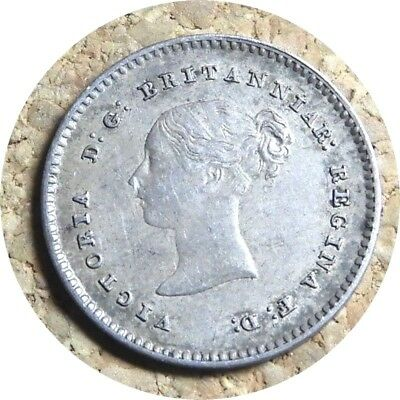 elf  Great Britain 2 Pence 1838 Silver Maundy  Victoria