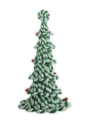 Byers Choice Green Candy Cane Tree NEW