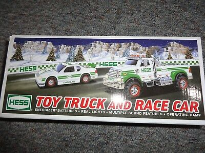 Hess Toy Truck And Race Car 2011 *new*