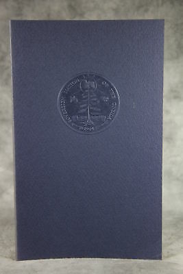 vintage 1974 THE ONEIDA PEOPLE Tribal History Signed Limited Edition Book