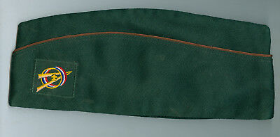 Nr MINT Older Official Boy Scout Explorer Dk Green Field Hat -Size  EXTRA LARGE