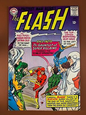 The Flash #155 DC Comics Pied Piper Captain Boomerang appearance Silver Age