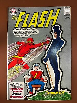 The Flash #151 DC Comics Goldem Age Flash appearance Silver Age NO RESERVE