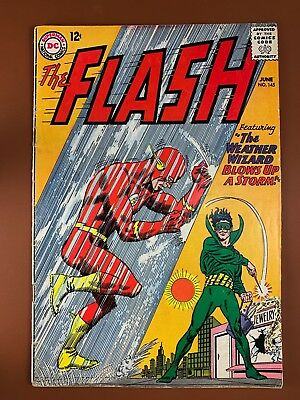 The Flash #145 DC Comics Weather Wizard appearance Silver Age NO RESERVE
