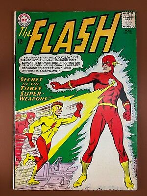 The Flash #135 DC Comics Kid Flash appearance Silver Age NO RESERVE