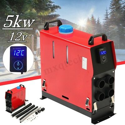 Diesel Air Heater 5KW 12V All In 1 Digital Switch For Truck Car Boat