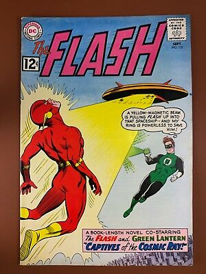 The Flash #131 DC Comics Green Lantern appearance Silver Age NO RESERVE