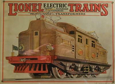 New Lionel Electric Trains 1927 Catalog Print Canvas 16 X 22 Train 9-31018