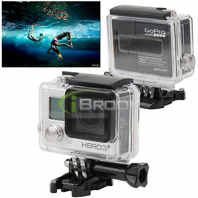 Waterproof Diving Swimming Housing Case for GoPro Hero 3+/Hero 4 Plus Accessory