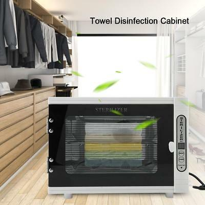 8L Towel Warmer UV Sterilizer Disinfection Hot Heater Cabinet Salon Spa Beauty