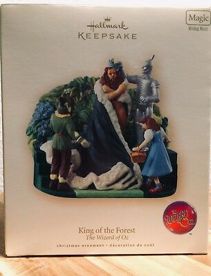 Wizard of Oz Hallmark Ornament - KING OF THE FOREST