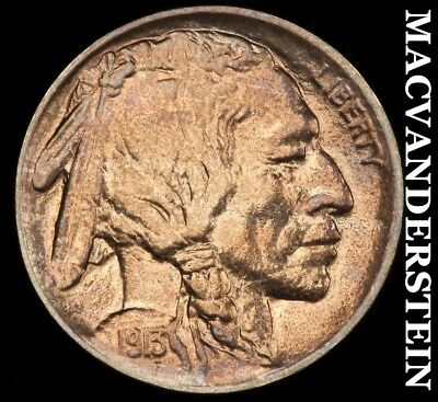1913 Buffalo Nickel - Type 1 - Uncirculated!!  Lustrous!!  #d517