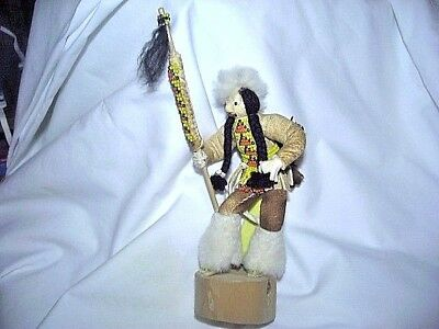 Sioux Indian Beaded Buckskin Doll