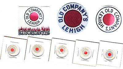 Scatter Tags And Coal Company   Mine Stickers E3