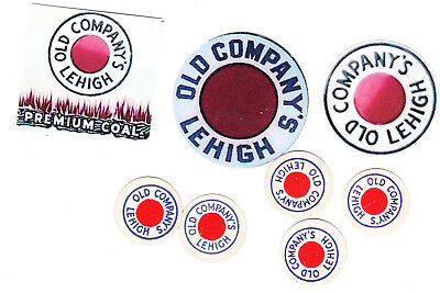 Scatter Tags And Coal Company   Mine Stickers E4