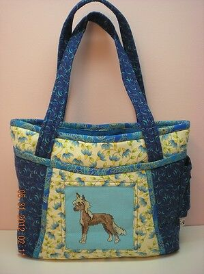 Handmade Chinese Crested Dog Purse-Made in USA **CC**