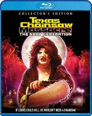 Texas Chainsaw Massacre The Next Generation Collectors Edition New Blu-ray