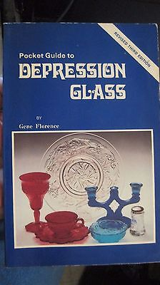 """1983  """"Pocket Guide to Depression Glass"""" by Gene Florence.  (821)"""