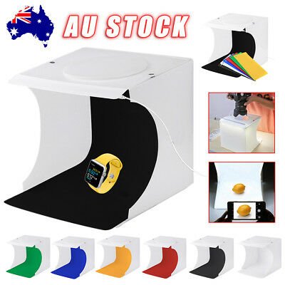 Photo Studio Light Room Photography USB LED Lighting Tent Backdrop Cube Box