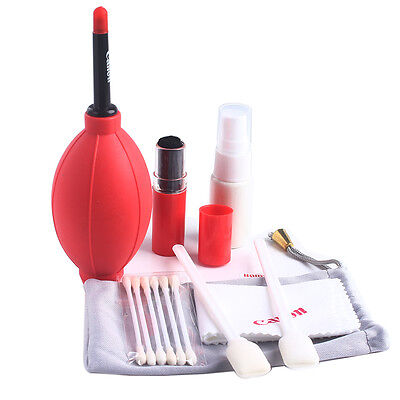Professional 7 in 1 Brush Camera Lens For Canon Nikon Cleaning Cleaner Set Kit